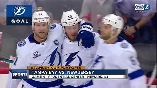 Nikita Kucherov leads way as Tampa Bay Lightning take 3-1 series lead over New Jersey Devils - Video