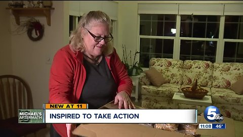 Twinsburg woman packing up car with supplies, 2,000 sandwiches to aid hurricane victims