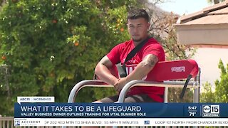 What it takes to be a lifeguard