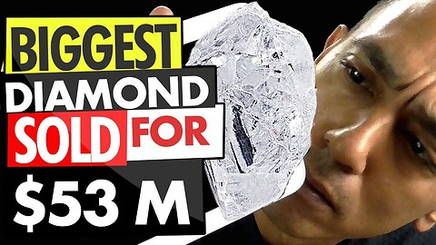 The Biggest Diamond Sold For $53 Million