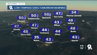 Breezy and cooler heading into Thanksgiving