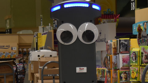 Robot 'Marty' Coming To Giant Grocery Stores