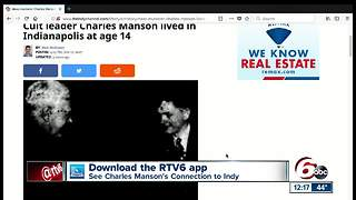 Cult leader Charles Manson lived in Indianapolis at age 14 - Video