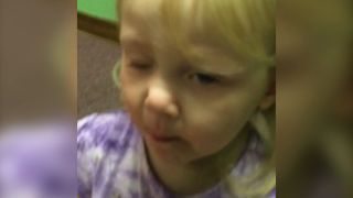 Little Girl's First Taste Of Sour Candy - Video