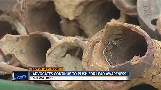 Advocates continue to push for lead awareness - Video