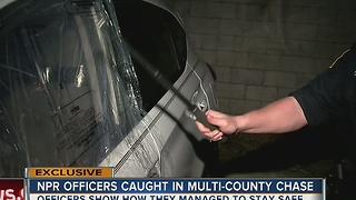 NPR officers caught in multi-county chase - Video