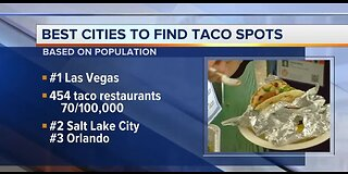 Best cities to find taco spots