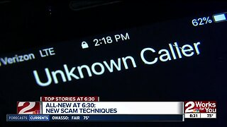 Scammers getting creative with phone calls