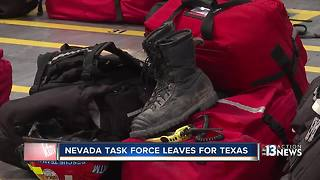 Nevada first responders deployed to Texas - Video