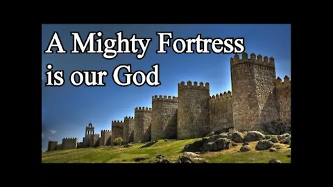 A Mighty Fortress is our God - Christian Hymns with Lyrics (Choir) / Martin Luther