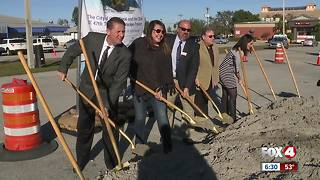 Cape Coral breaks ground on controversial downtown project - Video
