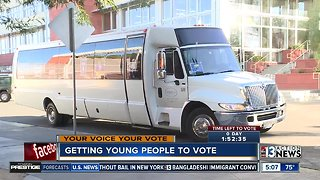 Getting young people to vote