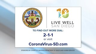County of San Diego Health & Human Services provides COVID-19 Update