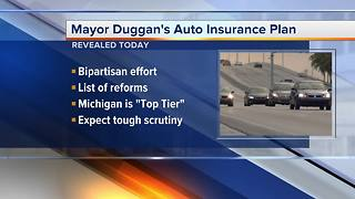 Detroit mayor to unveil plan to lower Michigan auto insurance rates - Video