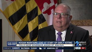 Ben Jealous looking to unseat Governor Larry Hogan