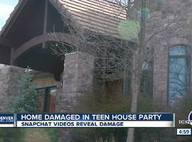 Deputies investigating after teens break into Parker home, throw party while homeowner away - Video
