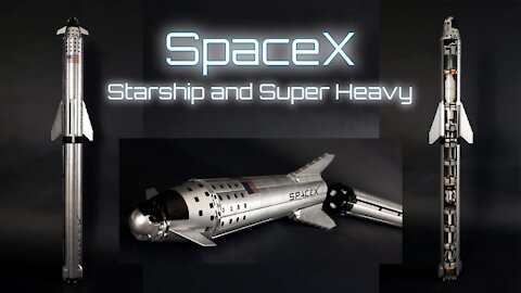 LEGO Creators Breakdown the SpaceX Starship & Super Heavy