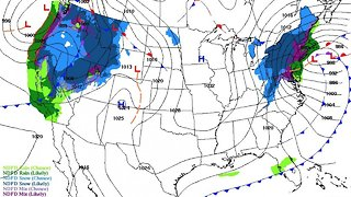 Dual Storms Pose Dangerous Threat, Could Cripple Air Travel - Video