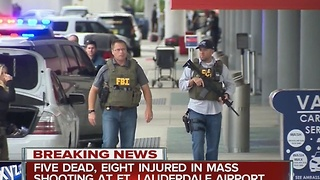 Shooting at Fort Lauderdale airport - Video