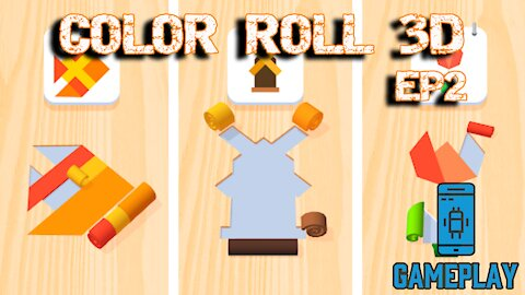 Gameplay: Color Roll 3D EP2