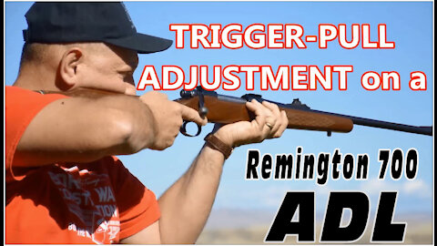 Trigger Pull Adjustment on a Remington 700 ADL and Reassembly by Wapp Howdy