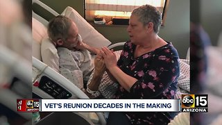 Valley veteran homeless for decades reunited with sister after 40 years - Video