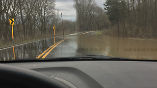 Lewisburg Streets Underwater After Flash Flooding - Video