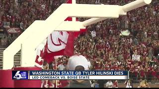 WSU QB Hilinski found dead in apparent suicide - Video