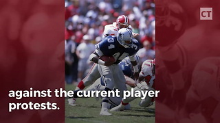 Herschel Walker Takes On Anthem Kneelers - Video