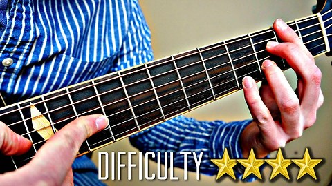 Incredibly talented artist demonstrates 10 levels of guitar difficulty
