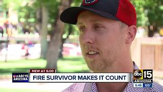 Surviving Granite Mountain Hotshot remembers brothers - Video