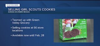 Selling Girl Scout cookies across Southern Nevada
