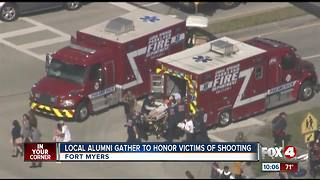 Fort Myers vigil after school shooting - Video