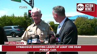 Presser: Shooting at California synagogue leaves at least one dead, three injured