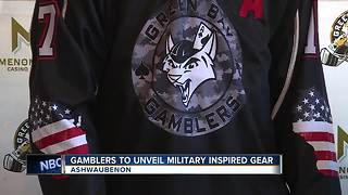 Green Bay Gamblers unveil Military Night jerseys - Video
