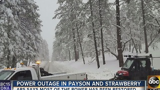 Electricity restored for some Payson residents - Video