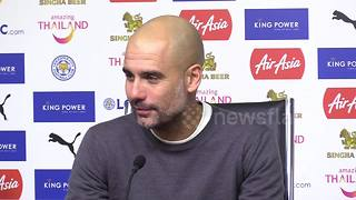 Guardiola dismisses 'unreal' talk of City quadruple - Video