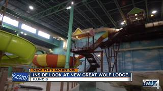Inside look at new Great Wolf Lodge - Video