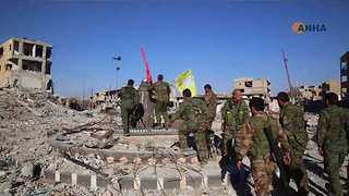 US-Backed Forces Claim Victory Over Islamic State in Raqqa - Video