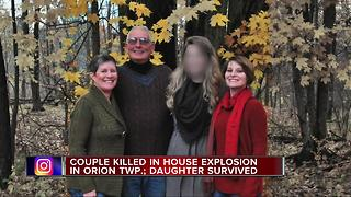 Couple killed in Orion Township house explosion