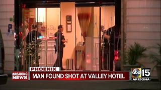 Man found shot at hotel in downtown Phoenix - Video