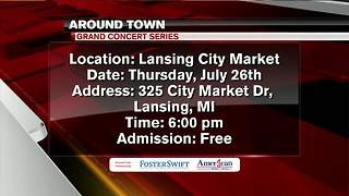 Around Town 7/24/18: Grand Concert Series - Video