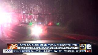6-year-old dead, 2 other seriously injured in crash - Video