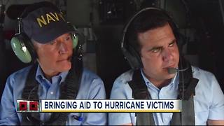 Gov. Scott returns from Puerto Rico after visit to help recovery efforts after Hurricane Maria - Video