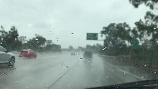 Rainfall in Golden Hill area - Video