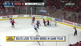 Caps have home-ice disadvantage in Game 4 - Video