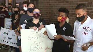 Hillsborough Schools vows to continue protecting school programs as students rally for support
