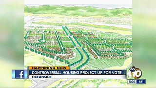 Controversial Oceanside housing project up for vote