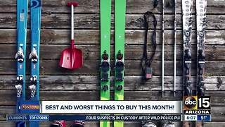 Best and worst things to buy in March - Video