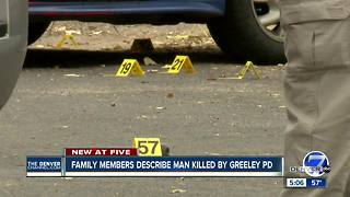 Armed man shot, killed by Greeley Police after pursuit